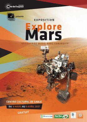 Affiche Explore Mars internet