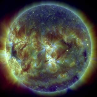 Composition du soleil