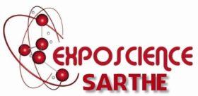 Logo Exposcience Sarthe