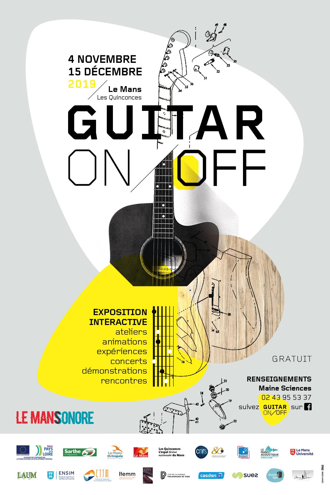 Master Class Guitare @ Salle d'exposition des quinconces